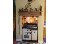 Range master multifuel cooker and fridge freezer