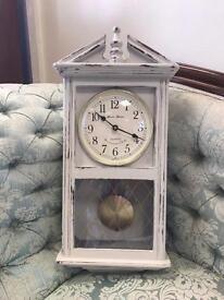 upcycled quartz wall clock