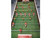 Original table football game.