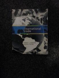 International Trade: Written by Robert C. Feenstra