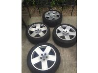 Alloy wheels audi a8 genuine set of 4