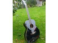 Good condition Freshman FA1FBK acoustic guitar