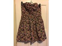 Jack wills Floral dress size 14. Would fit size 12 comfortably. Fab condition
