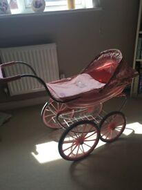 Baby Annabell pram - never used outside, new condition