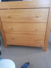 Mamas and papas Drawers/changing table