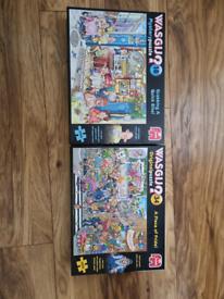 Wasgij (×2) jigsaw puzzle