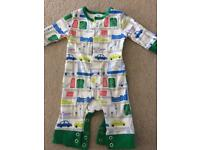 Baby Boden new born footless suit.
