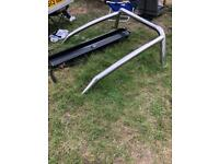 Roll bar and sliding shutters for Mitsubishi l200