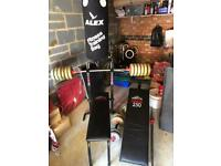 York Gym Set & Boxing Bag