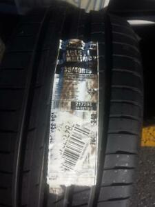 TWO TIRES NOT FOUR GOODYEAR EAGLE ULTRA HIGH PERFORMANCE ' Y ' RATED 255 / 40 / 19 ALLSEASON TIRE SET OF TWO.