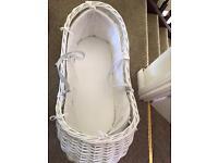 The snug Moses basket