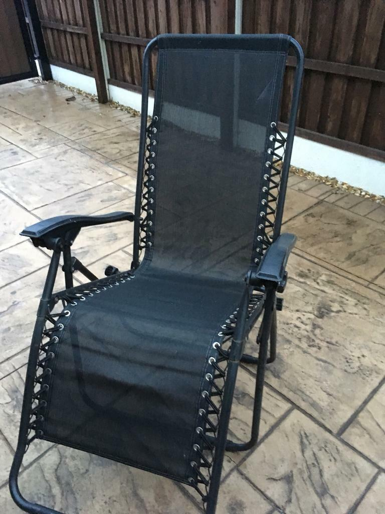 Outstanding 2 Reclining Sun Lounger Chairs In Wakefield West Yorkshire Gumtree Caraccident5 Cool Chair Designs And Ideas Caraccident5Info