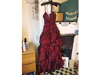 **PROM DRESS, WORN ONCE, VINTAGE STYLE **