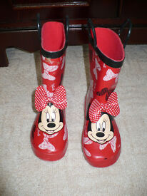 Disney Minnie Mouse Boots size 11 (EU 29). Excellent condition! Worn once...