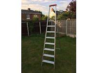 8 Step Platform Aluminium Step Ladder