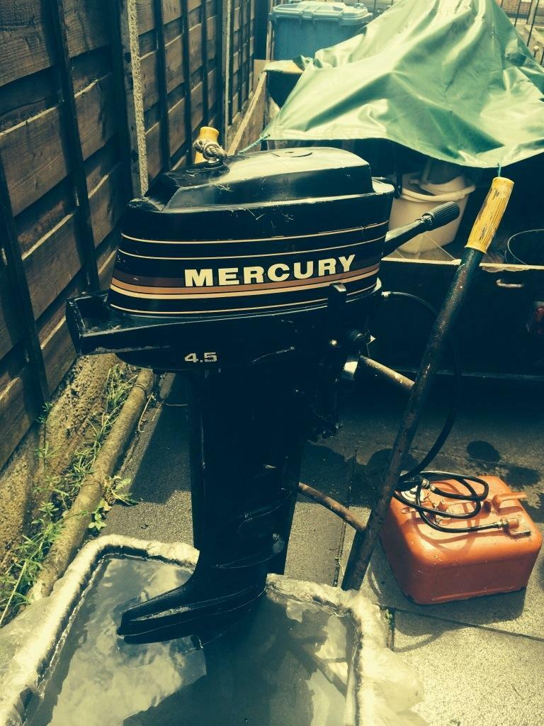 Mercury Outboard 4 5 Hp In Partington Manchester Gumtree
