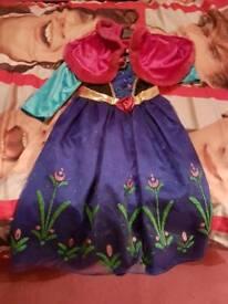 Frozen Anna dress age 5-6 years