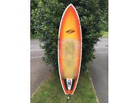 "Surfboard Surf Tech Randy French 6'10"" Soul Fish"