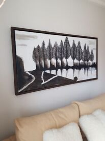 Large painting needs new home