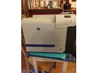 HP Laserjet 500 Colour M551, used good condition