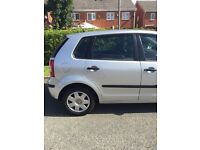 Silver VW Polo Twist in good condition. 1.2 litre engine.