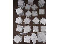 Electric Plug/Sockets (X53) NEW - Job Lot