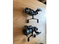 Shimano 6010 double handle bait runner reels carp/coarse fishing