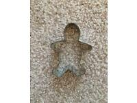 Metal person cookie cutter 50p