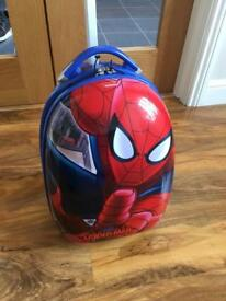Kids Spider-Man suitcase hand luggage size