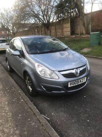 Vauxhall Corsa, ECO, Hatchback, 2009, 1litre, MOT feb 2019, £1000 ONO
