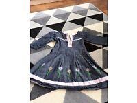 Bundle dress 1-2 year Girls x5