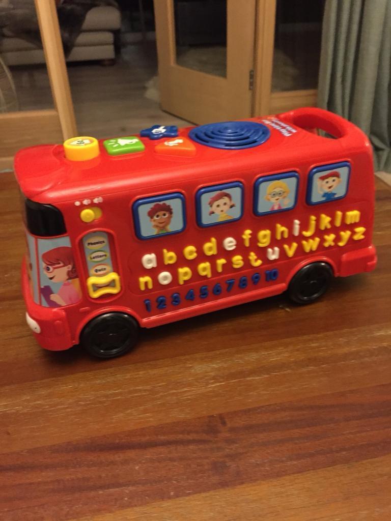 Kids musical learning bus