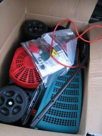 Bosch Lawnraker ALR900 (Scarifier, moss/ dead grass lawn rake) Boxed, unused, as new