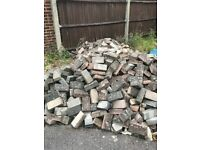 Free pathway bricks