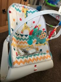 Fisherprice baby bouncer rocker chair