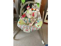 Fisher price happy forest bouncer
