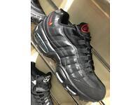 Nike air max 95 blk/red 6,7,8,9,10,11
