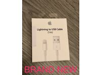 Original Apple Lightening USB Cable - Brand New - Sealed Box - £20