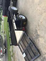 Trailer with ramp 4x8