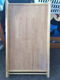 Cot Topper with slide out drawer