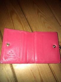 Hot pink Vivienne Westwood purse