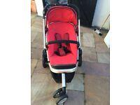 Quinny buzz pushchair/stroller