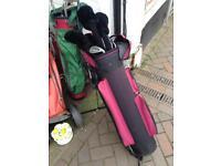 Peter alliss series 3 golf clubs set trolley