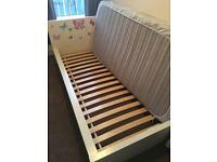 Ikea malm single bed and mattress