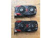 NVIDIA GTX 760 X 2 (Inc SLI Bridge)