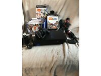 PlayStation 2, PS2. CONSOLE, CONTROLLER. SINGSTAR MICS . EYE TOYS PLUS GAMES