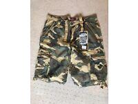 Camouflage shorts size xl(34)
