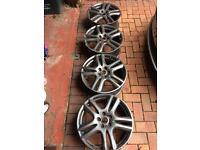 """4 genuine jaguar 18"""" Aruba alloys"""