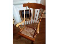 Rocking Chair! Vintage wooden!