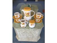 Vintage/Retro Coffee Set